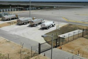 Fuel Trucks Parking and Hazmat Yard - Curacao